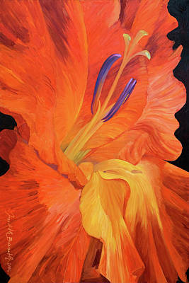 Red-hot Flower Poster by Judith Barath