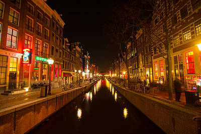 Red Light District Poster by Vision Fine   Art