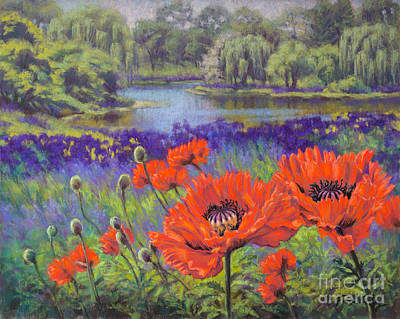 Red Poppies 1 Poster by Fiona Craig