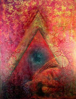 Redstargate Poster by Ashley Kujan