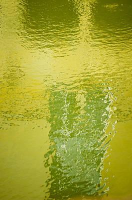 Reflections At Bath Spa Poster by Christi Kraft