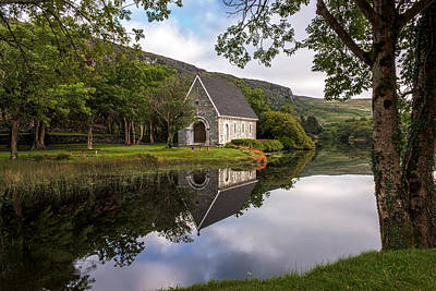 Reflections Of Gougane Barra Poster by Wanderborn