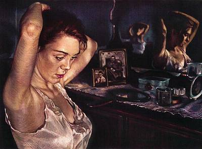 Reflections Of Sasha Poster by Jean Hildebrant