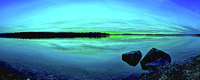 Reflections Of Serenity Panorama Poster by Bill Caldwell -        ABeautifulSky Photography