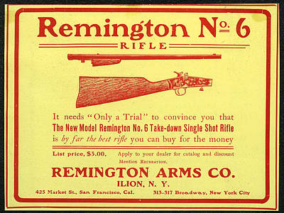 Remington Arms  Poster by Howard Dorfman
