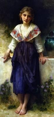 Rest Of A Girl Poster by Georgiana Romanovna