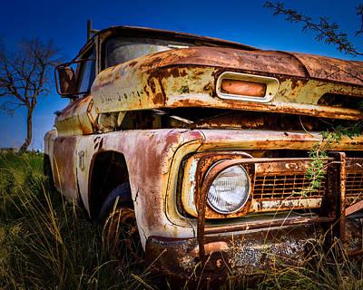 Resting C-10 Chevrolet Poster by Tim Singley