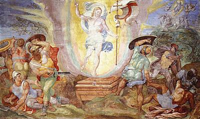 Resurrection Of Christ Poster by Hendrick van den Broeck