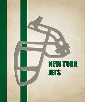 Retro Jets Art Poster by Joe Hamilton