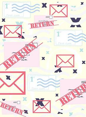 Return To Sender Poster by Beth Travers