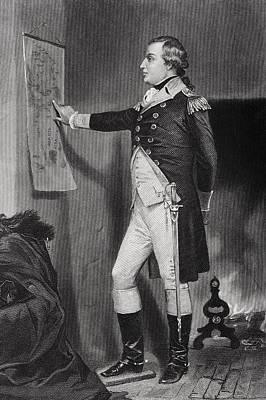 Richard Montgomery 1736 - 1775 Poster by Vintage Design Pics