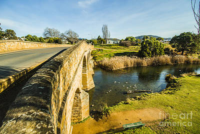 Richmond Bridge Tasmania Poster by Jorgo Photography - Wall Art Gallery