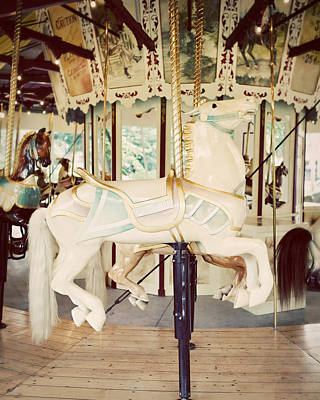 Ride A White Horse Poster by Lisa Russo