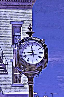 Ridgewood Time Poster by Dimitri Meimaris