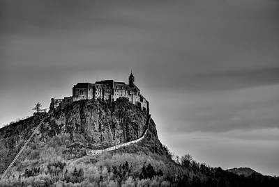Riegersburg Castle Poster by Ivan Slosar