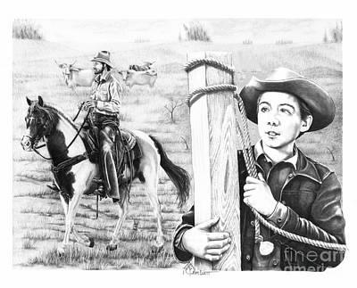 Rifleman-mark-mccain Poster by Murphy Elliott