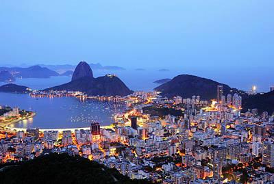 Rio De Janeiro, Beautiful City Poster by ©Ricardo Barbieri