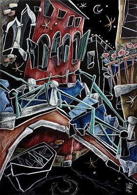 Rio Della Toletta - Contemporary Venetian Art Poster by Arte Venezia