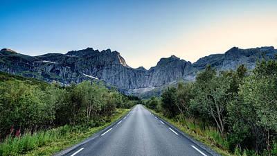 Roadtrip Poster by Tor-Ivar Naess