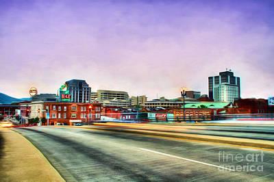 Roanoke Virginia Poster by Darren Fisher