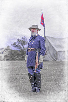 Robert E. Lee Poster by Randy Steele
