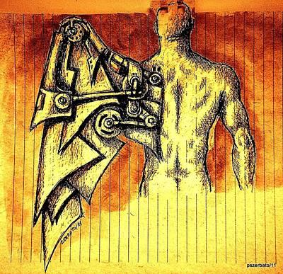 Robotics Poster by Paulo Zerbato