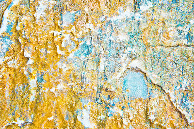 Rock Texture Poster by Tom Gowanlock
