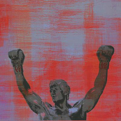 Rocky V2 Poster by Brandi Fitzgerald