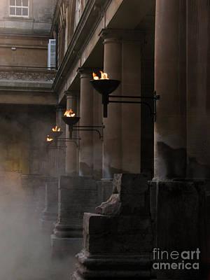 Roman Baths Poster by Amanda Barcon