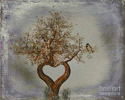 Romance Tree Poster by Cheryl Young