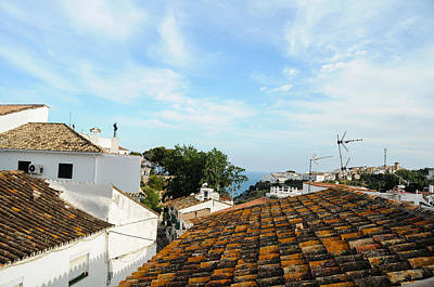 Rooftops Of Andalucian Town Poster by Tetyana Kokhanets