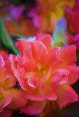 Rose 337 Poster by Pamela Cooper