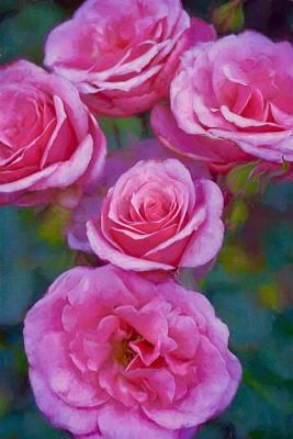 Rose 344 Poster by Pamela Cooper
