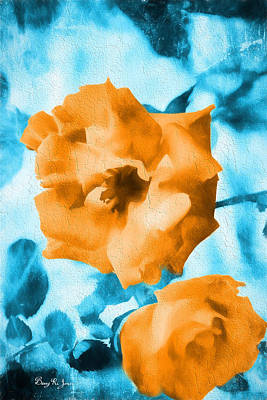 Rose Fresco - Floral Poster by Barry Jones