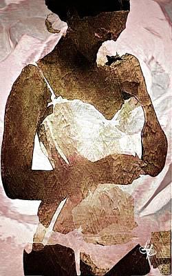 Rose Lingerie Poster by Lynda Payton