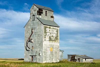 Ross Fork Grain Elevator Poster by Todd Klassy