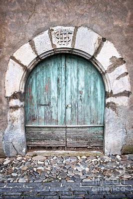 Round Door Poster by Delphimages Photo Creations