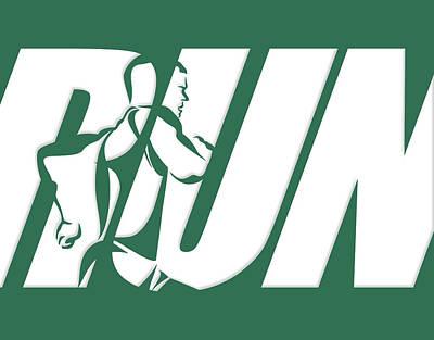 Run 2 Poster by Joe Hamilton