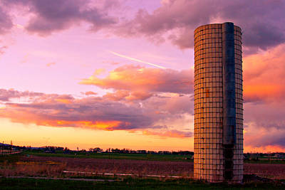 Rural Boulder County Sunset Poster by James BO  Insogna
