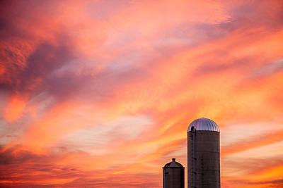 Rural Skies Poster by Todd Klassy