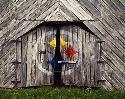 Rural Steelers Fan Poster by Daniel Hagerman