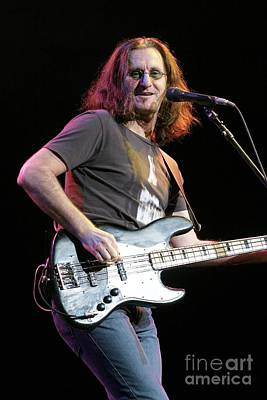 Rush Bassist Geddy Lee Poster by Concert Photos
