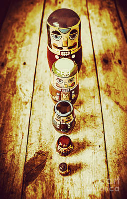 Russian Doll Art Poster by Jorgo Photography - Wall Art Gallery