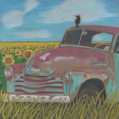Rust And Gold Poster by Arlene Crafton