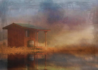 Rustic Cabin Poster by Stephanie Laird