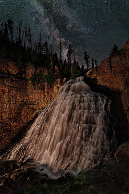 Rustic Falls Forever Poster by Mike Berenson