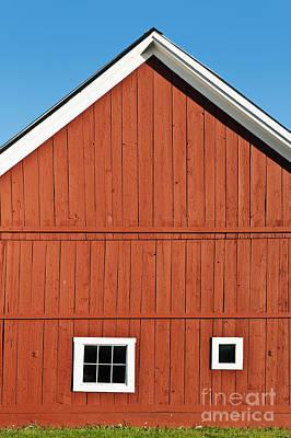 Rustic Red Barn Poster by John Greim