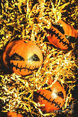 Rustic Rural Halloween Pumpkins Poster by Jorgo Photography - Wall Art Gallery