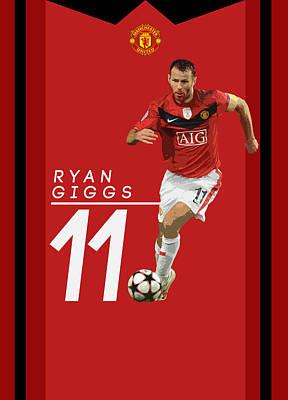 Ryan Giggs Poster by Semih Yurdabak
