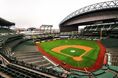 Safeco Field - Home Of The Mariners Poster by Hyun Jae Park